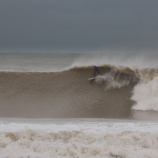 Winter2014 saw some big swells hit the UK and we had the best run of good solid waves anyone can remember!