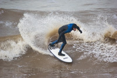 The inside section at Compton Bay can have some really fun waves in small to medium swells.